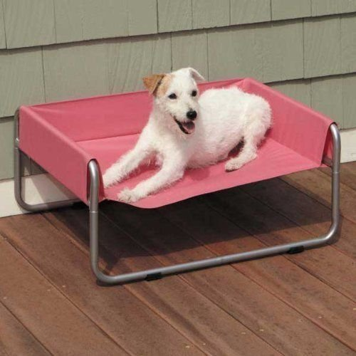 Pet Gear Pet Cot - Guardian Gear Insect Shield Pet Cot for Dogs and Cats, Small, Pink