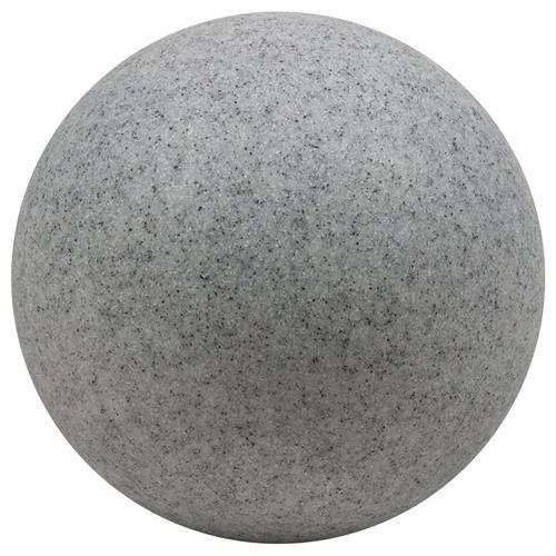 Heitronic 35956 Bodenleuchte, EE27, Kunststoff, grau