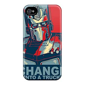 Saraumes SBWInOg2282siPHy Case Cover Skin For Iphone 4/4s (optimus Prime)
