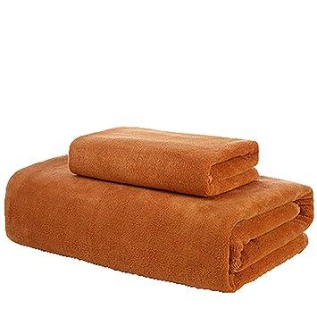 Maiyatang Toalla de baño Premium + Juego de Toallas para Hotel y SPA, máxima suavidad y Alta absorción de Agua,Brass: Amazon.es: Hogar
