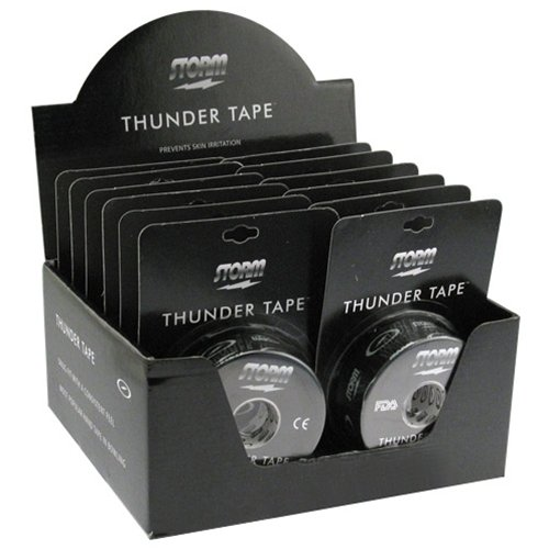 Storm Thunder Fitting Tape Box of 12- Black by Storm Bowling Products