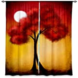DiaNoche Designs Unlined Window Curtains, 40W x 82H in Review