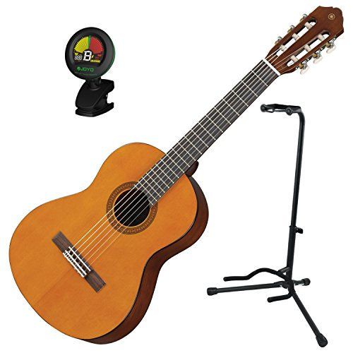 Yamaha CGS102 Natural 1/2 Scale Acoustic Classical Guitar Bundle w/Stand - Yamaha Stand Classical