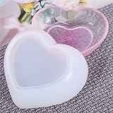 XBKPLO Love Heart Shape Ashtray Polymer Clay