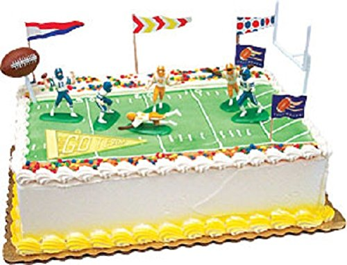 Oasis Supply Touchdown Football Cake Decorating Kit, 1 Set ()