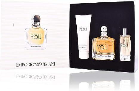 Emporio Armani Because Its You Set de Regalo - 3 Piezas: Amazon.es: Belleza