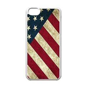 US Independence Day Flag EagleHard Plastic phone Case Cover+Free key bracket For Iphone 5c ZDI033603