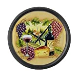 Cheap CafePress – Best Seller Grape – Large 17″ Round Wall Clock, Unique Decorative Clock