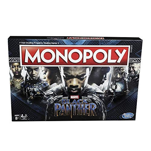 Monopoly Game: Black Panther Edition ()