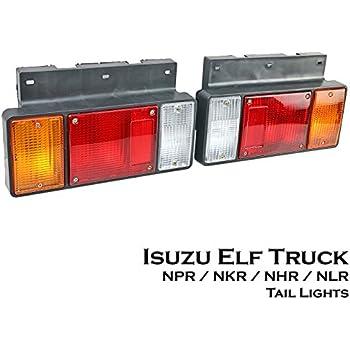 Amazon com: 1 Pair Left + Right 12V LED Rear Tail Light Fit Isuzu