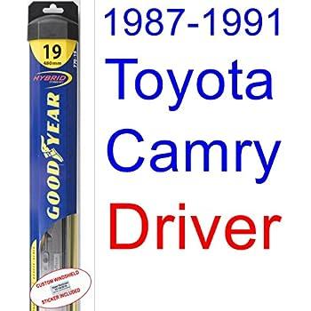 1987-1991 Toyota Camry Wiper Blade (Driver) (Goodyear Wiper Blades-Hybrid) (1988,1989,1990)
