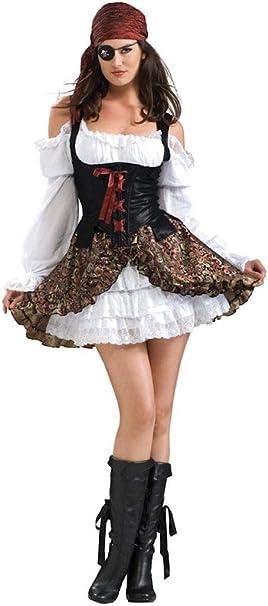 Rubies 2 888609 M - Disfraz de bucanera (talla M): Amazon.es ...