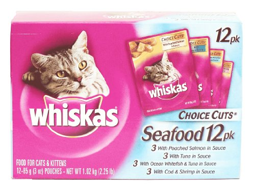 Mars Petcare Us Inc 3Ozseafood Variety Pack (Pack Of 4) Cat Food, My Pet Supplies