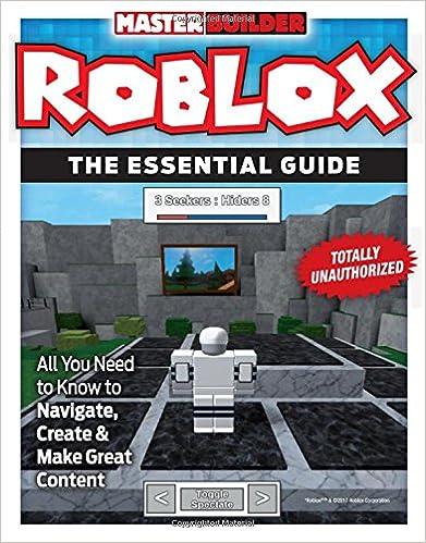 Master Builder Roblox construir codigo programar(Inglés)Tapa blanda