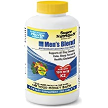 SuperNutrition Men's Blend Multivitamin, 180 Count