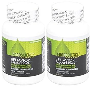 Amazon com: Foodscience of Vermont Behavior Balance DMG