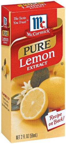 McCormick Pure Lemon Extract, 2 oz. (Pack of 6) (Lemon Pure Extract compare prices)