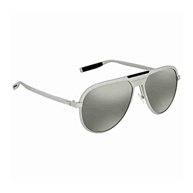 2cdb151a4c0f Image Unavailable. Image not available for. Color  Christian Dior AL 13.6 S  Sunglasses Matte Palladium   Black Mirror