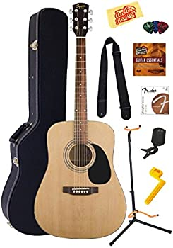 Fender FS02 Squier Acoustic Guitar Bundle w/Case