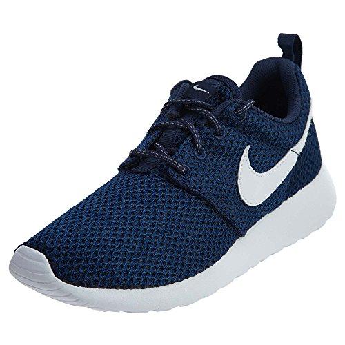 Nike Barna Roshe En Se (gs) Løpesko Midnatt Marine Hvit