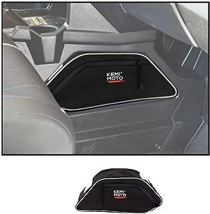 kemimoto UTV Center Seats Console Storage Bag for Polaris General 4 1000 2016 2017 2018 2019