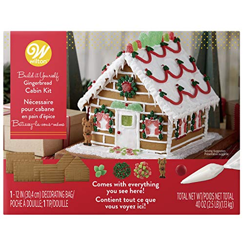 Wilton House - Wilton Build-it-Yourself Gingerbread Cabin Decorating Kit
