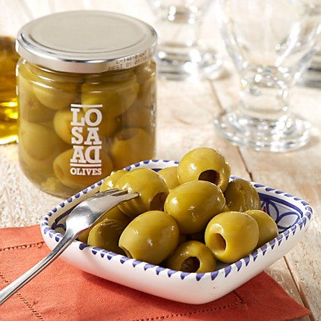 Pitted Gordal Olives - 198g