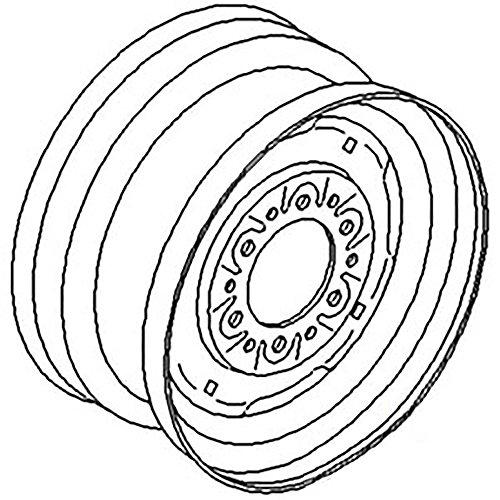 "98A1566 New 15"" Front Wheel Rim For John Deer big image"