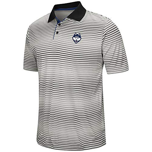 Mens UConn Connecticut Huskies Polo Shirt - 2XL