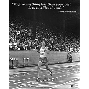 Amazoncom Steve Prefontaine Quotes 4 Canvas Art Print Posters