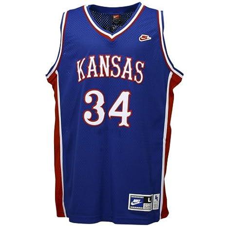 free shipping 3f7d5 744d5 Amazon.com : Nike Kansas Jayhawks #34 Paul Pierce Royal ...