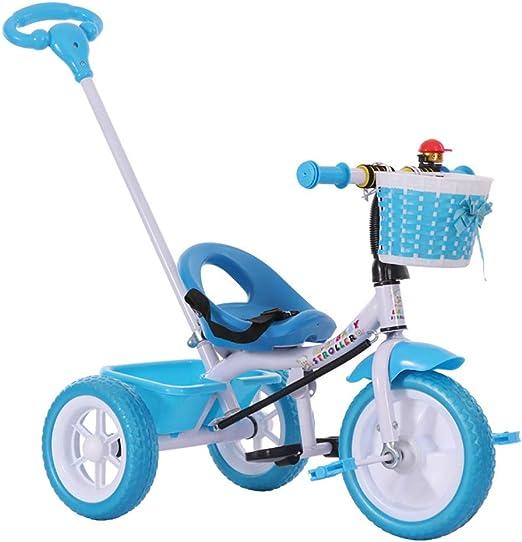 Triciclo Bebe Evolutivo,Niños Triciclo Infantil Bicicleta Control ...