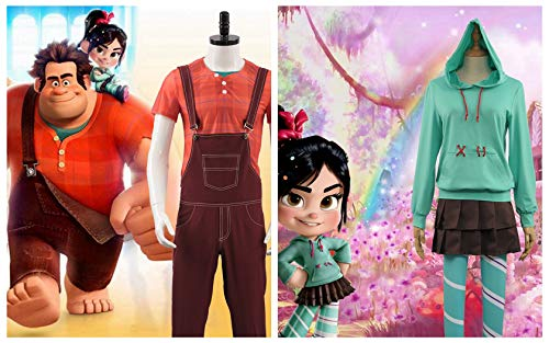 with Wreck It Ralph Costumes design