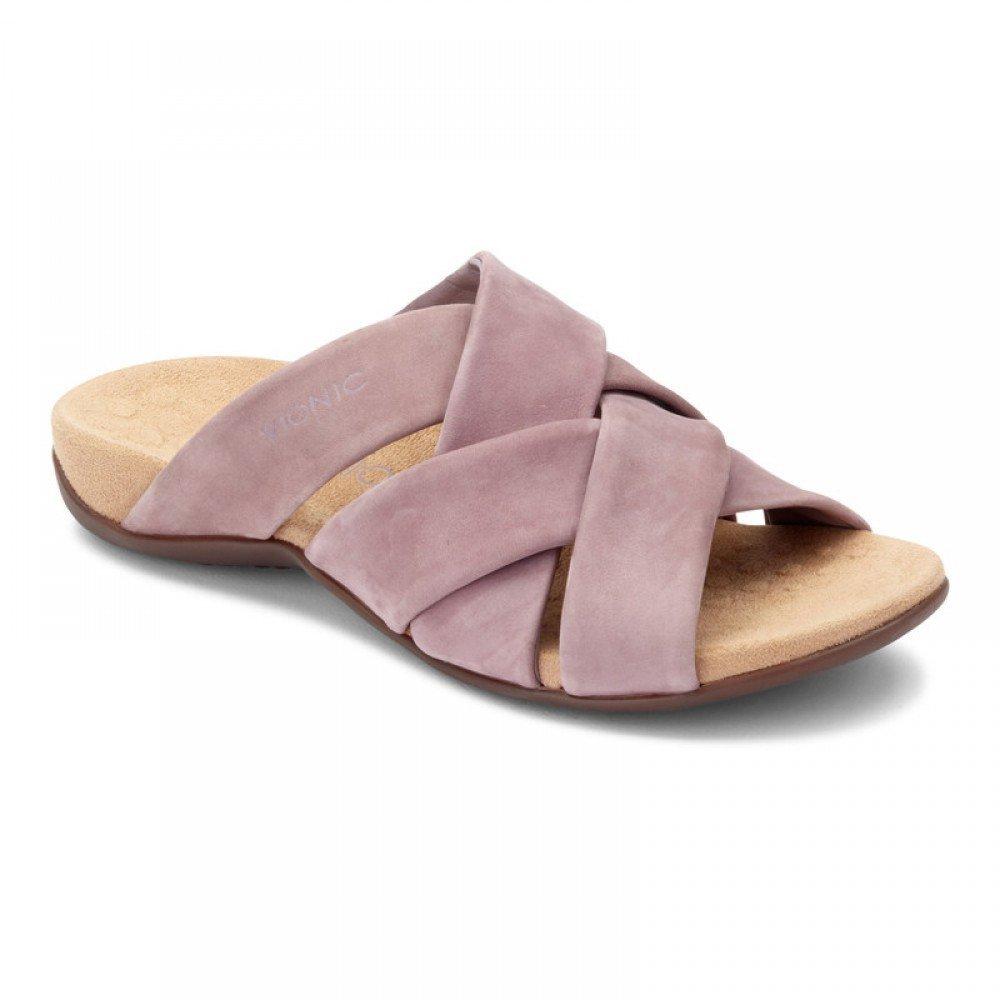 Vionic Women's Juno Slide Sandal B07D3GS9G8 6.5 C/D US|Dusk