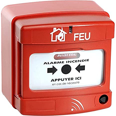 Pulsador Manual de alarma Radio: Amazon.es: Bricolaje y ...