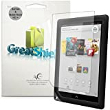 "GreatShield Ultra Anti-Glare (Matte) Clear Screen Protector Film for Barnes & Noble NOOK HD+ 9"" Tablet (3 Pack)"