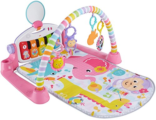 Fisher-Price Deluxe Kick 'n Play Piano Gym, Pink -