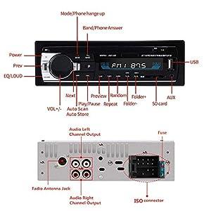 51jNo5ZesoL. SS300  - Andven-Hands-Free-Bluetooth-Car-Radio-Digital-Media-Receiver-4-x-60-W-1-DIN-Car-Radio-USB-SD-AUX-MP3-Player-Receiver-with-Remote-Control