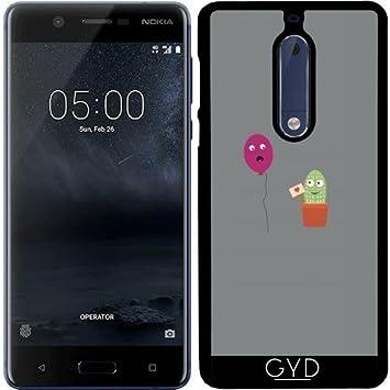 DesignedByIndependentArtists Funda para Nokia 5: Amazon.es ...