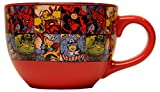 marvel grid mug - Silver Buffalo MV9124 Marvel Comics Grid Ceramic Soup Mug, 24-Ounces