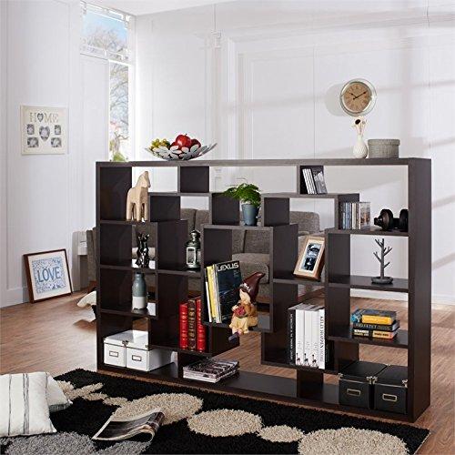 Buy open bookcase room divider