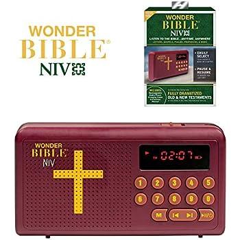 Amazon com: Talking Bible® – Battery Powered Pocket Bible Audio