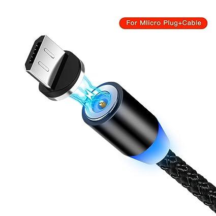 TOUSHI Cable Cargador Cable USB magnético de 8 Pines para ...