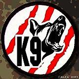 Patch patch patch-k9 diensthundeführer conducteur en allemand deutscher schäferhund'armée chien k9#7470 unité