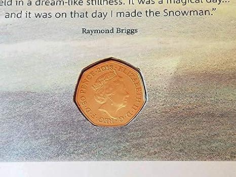 THE SNOWMAN 50P CHRISTMAS 2018 BU SEALED 40TH ANNIVERSARY RAYMOND BRIGGS TALE 2