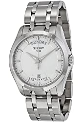 Tissot Couturier Day-Date Silver Dial Mens Watch T035.407.11.031.00