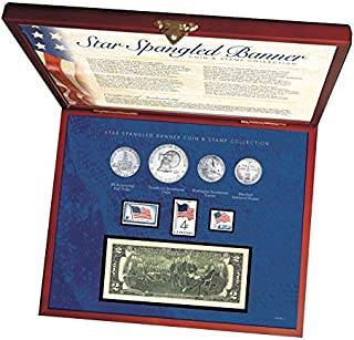 product image for American Coin Treasures Star Spangled Coin and Stamp Box Set