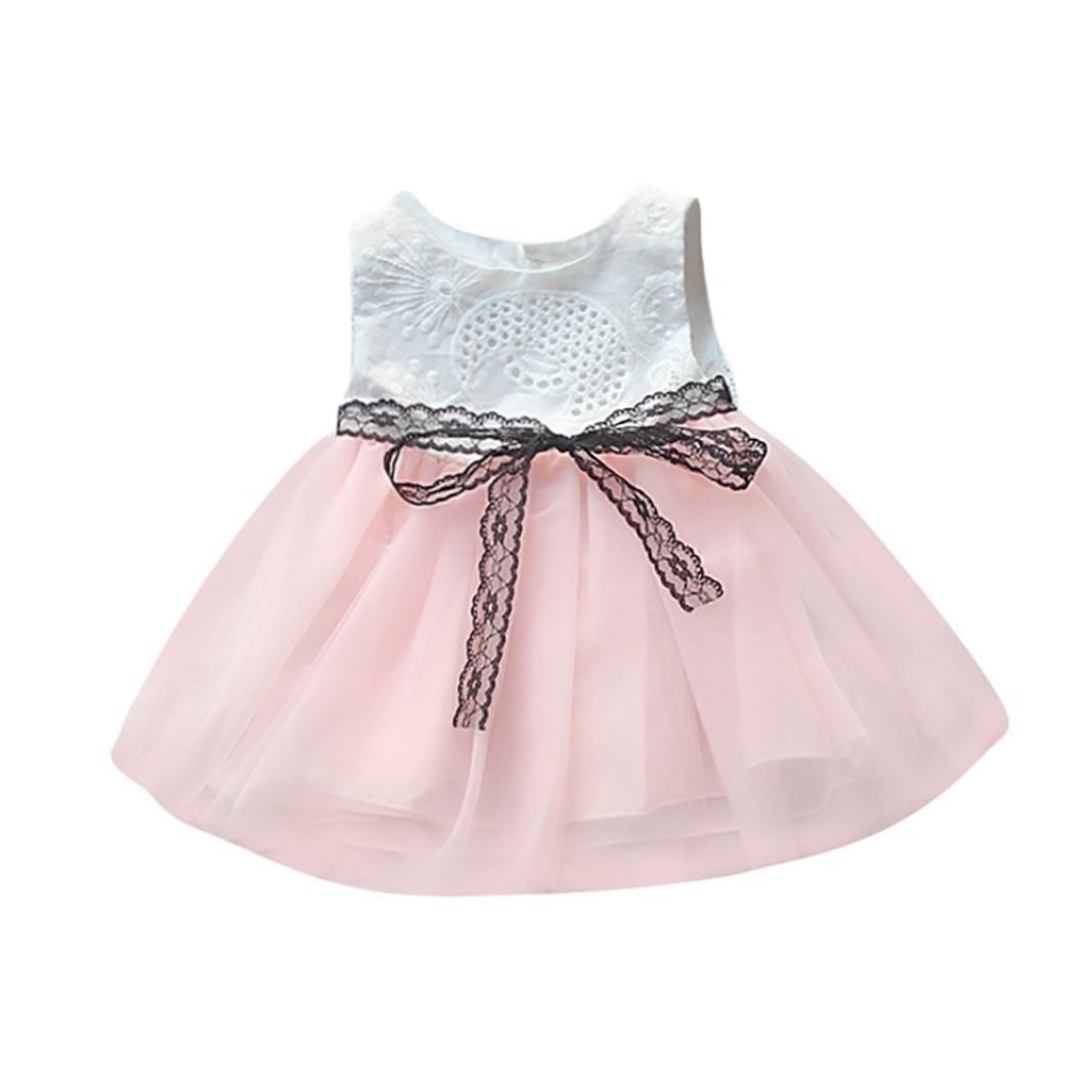 Kleid Mädchen, yesmile Mädchen Kleid Prinzessin Kleid Hochzeit ohne ...