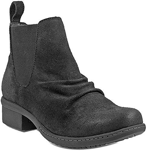 Bogs Womens Auburn Slip-on Chelsea Boot Black Size 6