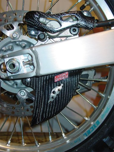 Carbon Fiber Rear Disc Guard - LightSpeed Carbon Fiber Caliper/Disc Guard 122-04023